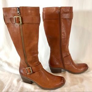 Korks by Kork-Ease Tall Leather Riding Boots, Sz 8